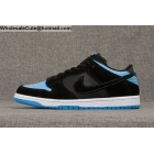 wholesale Mens Nike Dunk Low Pro SB SubZero Black Blue White