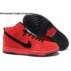 Mens & Womens Nike Dunk High Premium SB Red Devil