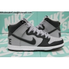 wholesale Mens Nike SB Dunk High Premium Georgetown Grey Black