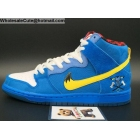 wholesale Mens Nike SB Dunk High Premium Familia Blue OX