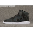 wholesale Mens & Womens Nike SB Dunk High Pro Griptape Black