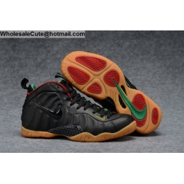 Nike Air Foamposite One Pro Black Gorge Green