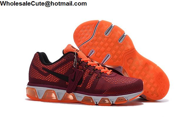 b9826be61112 Mens Nike Air Max Tailwind 8 Wine Red Orange White -13884 ...