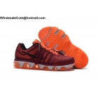 wholesale Mens Nike Air Max Tailwind 8 Wine Red Orange White