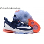 Mens Nike Lebron 13 Low USA Dark Blue White Orange
