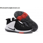 wholesale Mens Nike Lebron Zoom Air Witness Black White