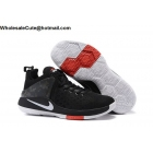 wholesale Nike Lebron Zoom Air Witness Black White Mens Basketball Shoes
