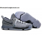 wholesale Nike KD 9 Wolf Grey Mens Basketball Shoes