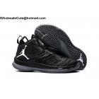 wholesale Mens Jordan Super Fly 5 Black White Basketball Shoes