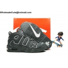 Kids Nike Air More Uptempo Grey White Pippen Shoes