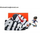 wholesale Kids Nike Air More Uptempo Navy White Pippen Shoes