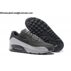 wholesale Mens Nike Air Max 90 Woven Grey White Running Shoes