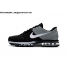 wholesale Mens Nike Air Max 2017 Black Grey White Size US7 - US13