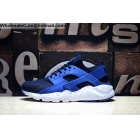 wholesale Mens Nike Air Huarache Run Ultra Navy Blue White Running Shoes