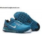 wholesale Nike Air Max 2013 Blue Mens Running Shoes