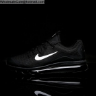 wholesale Nike Air Max 2017 Black White Mens Running Shoes