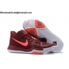 Nike Kyrie 3 Team Red Hot Punch Mens Basketball Shoes