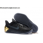 wholesale Nike Kobe 12 AD Black Gold Mens Basketball Shoes