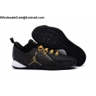 wholesale Mens Jordan CP3 X Black Gold Mens Basketball Shoes