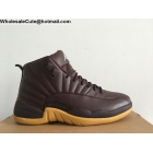 Mens Air Jordan 12 Chocolate Gum Anthony Hamilton PE