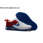 Nike Air Max 2017 White Blue Red Size US7 - US13 Mens Shoes