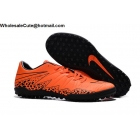 wholesale Mens & Womens Nike Hypervenom Phelon II Tc TF Orange Black