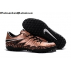 wholesale Mens & Womens Nike Hypervenom Phelon II Tc TF Bronze Black