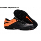 Mens & Womens Nike Hypervenom Phelon II Tc TF Black Orange