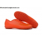 wholesale Mens & Womens Nike Mercurical Victory VI TF All Orange Cleats