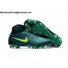 wholesale Mens Nike Magista Obra II AG PRO Green Volt Soccer Cleats