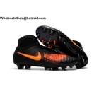 wholesale Mens Nike Magista Obra II FG Black Orange Soccer Cleats