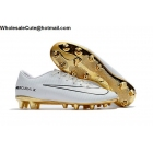Mens Nike Mercurial Victory VI CR7 AG Pro White Gold Soccer Cleats