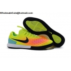 wholesale Mens Nike MagistaX Finale II IC Volt Orange Soccer Cleats