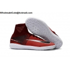 wholesale Mens Nike MercurialX Proximo II IC Red White Soccer Cleats