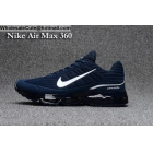 wholesale Nike Air Max 360 Navy Blue Size US7 - US13 Mens Running Shoes