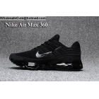 wholesale Nike Air Max 360 All Black Size US7 - US13 Mens Running Shoes