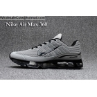 wholesale Nike Air Max 360 Grey Black Size US7 - US13 Mens Running Shoes