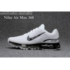 wholesale Nike Air Max 360 White Black Size US7 - US13 Mens Running Shoes