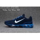 wholesale Nike Air Max 360 Blue White Size US7 - US13 Mens Running Shoes