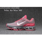 wholesale Womens Nike Air Max 360 Grey Pink Running Shoes