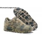 Nike Air Max 90 camo Mens beige sneakers