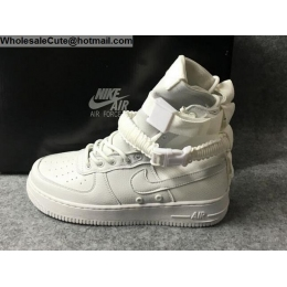 Mens & Womens Nike Special Field Air Force 1 ComplexCon All White Boots