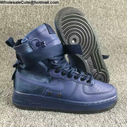 Mens & Womens Nike Special Field Air Force 1 Binary Blue Boots
