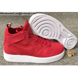Mens & Womens Nike Air Force 1 UltraForce Mid Red White