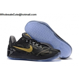 Nike Kobe AD EP Black Gold Mens Basketball Shoes
