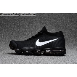 Mens & Womens Nike Air VaporMax Flyknit Black White