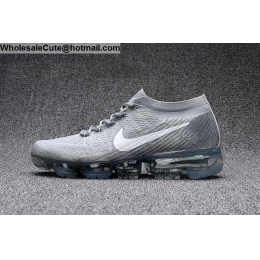 Mens & Womens Nike Air VaporMax Flyknit Pure Platinum Wolf Grey