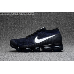 Nike Air VaporMax Black Blue White Mens Running Shoes