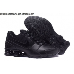 Nike Shox Avenue All Black Mens Running Shoes