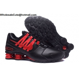 Nike Shox Avenue Black Red Mens Running Shoes